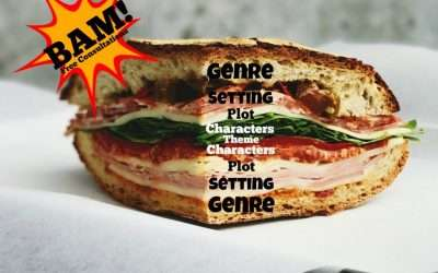 Compose your novel like a sandwich!